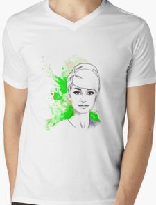 Audrey#11 Mens V-Neck T-Shirt