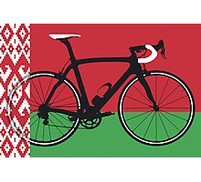 Bike Flag Belarus (Big - Highlight)  Photographic Print
