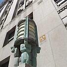 Vintage Lamp, Lower Manhattan, New York City by lenspiro