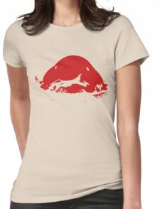 Blobfish - Red Womens Fitted T-Shirt