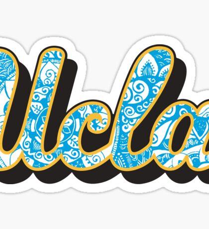 UCLA doodle Sticker