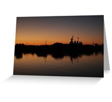 Reflection On The River Greeting Card