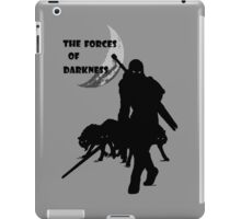 The Forces of Darkness iPad Case/Skin