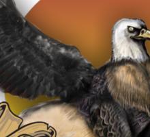 Griffin Banner Sticker