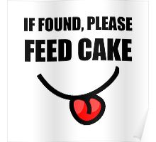 Found Feed Cake Poster