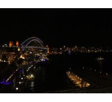 Sydney Harbour - Vivid 2016 Sticker