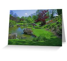 Spring in the Schedel Garden Greeting Card