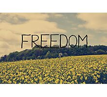 Freedom Photographic Print