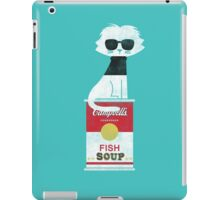 The cat loves Andy Warhol iPad Case/Skin