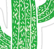 Linocut Cacti #2 Sticker