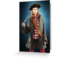 Pirate Pond (Doctor Who) Greeting Card