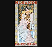 'Mosaicos' by Alexandre de Riquer (Reproduction) Womens Fitted T-Shirt