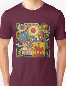 Marsden Hartley - Himmel. Abstract painting: abstract art, geometric, expressionism, composition, lines, forms, creative fusion, spot, shape, illusion, fantasy future Unisex T-Shirt