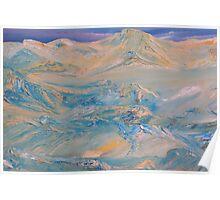 Mountainscape V Poster