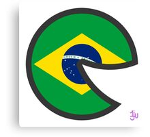 Brazil Smile Canvas Print