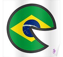 Brazil Smile Poster