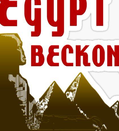 Ancient Egypt Beckons Sticker
