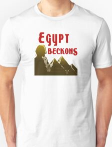 Ancient Egypt Beckons Unisex T-Shirt