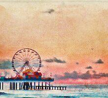 Galveston's Historic Pleasure Pier by lisapowell