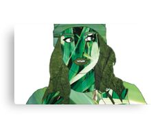 """Fresh Faced"" Digital Art Mixed Media Canvas Print"