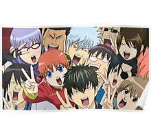 Gintama Peace Anime Poster