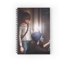 Chloe and Max Spiral Notebook