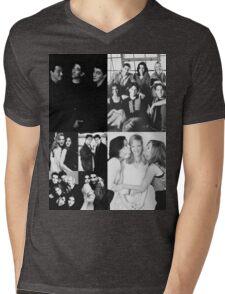 Friends Black&White Mens V-Neck T-Shirt
