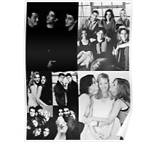 Friends Black&White Poster