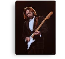 Eric Clapton Painting Canvas Print