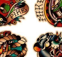 Mike Pike Machines 01 Sticker