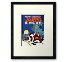 LeMans 31 Framed Print