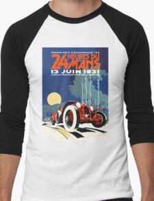 LeMans 31 Men's Baseball ¾ T-Shirt