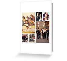 Friends Collage Greeting Card