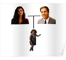 Tony, Ziva and Tali - Family Tree Poster