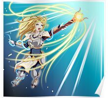 Lux's Radiance Poster
