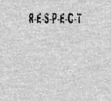 RESPECT T-shirt - R-E-S-P-E-C-T Lyric Unisex T-Shirt