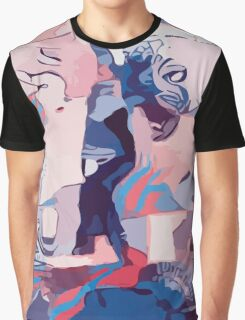 Abstract Figure Graphic T-Shirt
