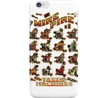 Mike Pike Machines 06 iPhone Case/Skin