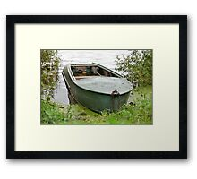 old Fishing Boat Framed Print