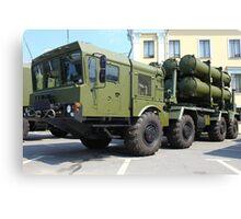 mobile missile launcher Canvas Print