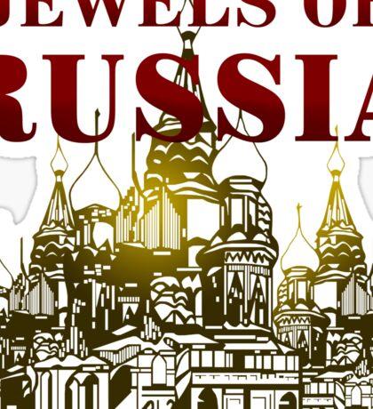 Jewels Of Russia Sticker