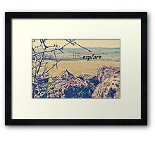 Lets Explore Framed Print
