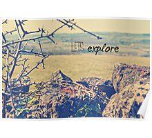Lets Explore Poster
