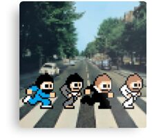 8-Bit Beatles Metal Print