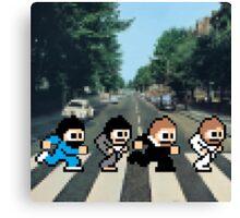 8-Bit Beatles Canvas Print