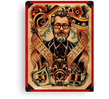 Mike Pike Portrait Canvas Print