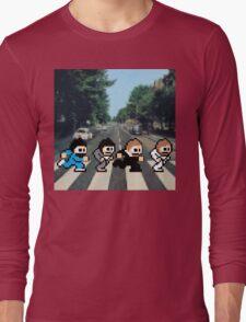 8-Bit Beatles Long Sleeve T-Shirt