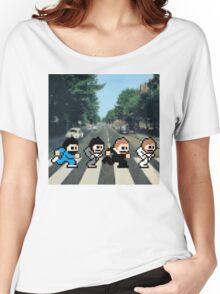 8-Bit Beatles Women's Relaxed Fit T-Shirt