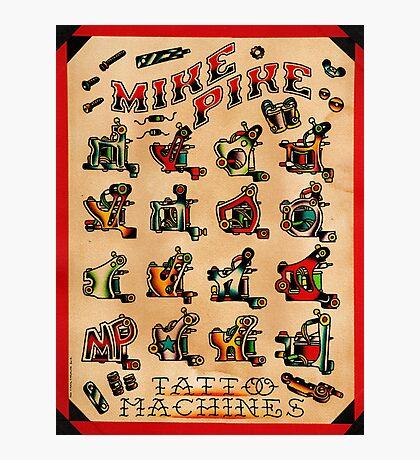 Mike Pike Machines 05 Photographic Print