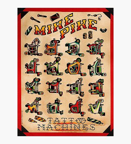 Mike Pike Machines 06 Photographic Print